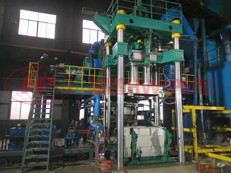Применение виброформовочных машин в производстве предварительно обожженных анодов