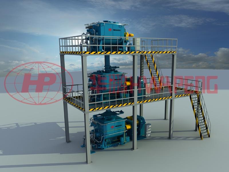 Высокоэффективная система охлаждения предварительного подогрева замешивания HP-H (H)KC