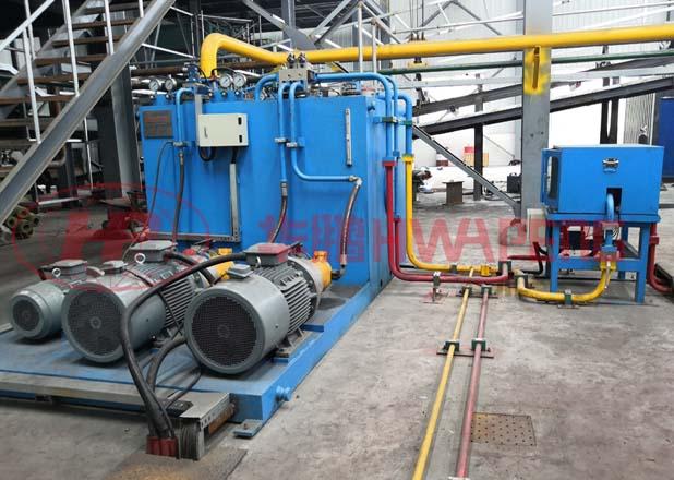 Применение 1500 тонного экструзионного пресса в производстве графитовых электродов