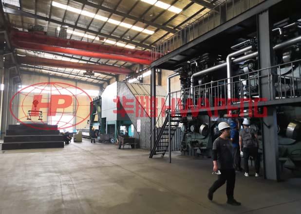 Применение 3000литровых установок двухслойных месильных машин предварительного нагрева в производсте катодов для выплавки алюминия