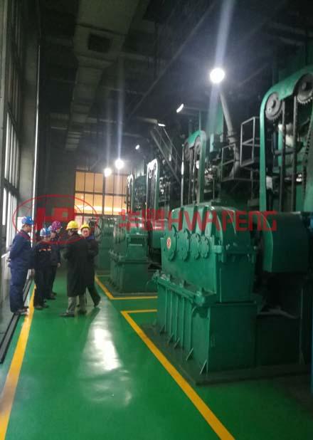 Применение 4000 литровых двухслойных месильных машин предварительного нагрева марки HWAPENG ,в приготовлении предварительно обожженной анодной пасты