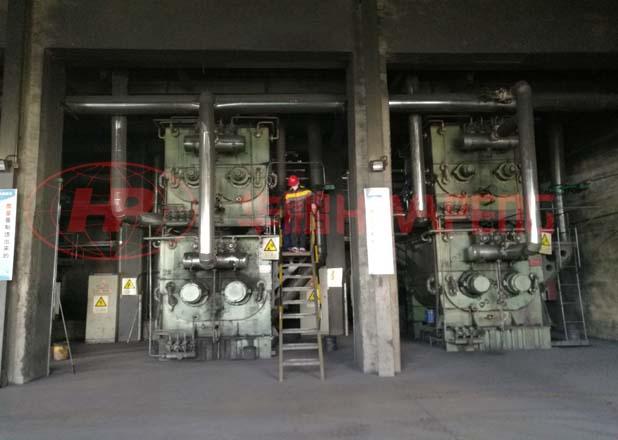 Применение 4000литровых двухслойных месильных машин предварительного нагрева в производсте углеродисто- электродной пасты